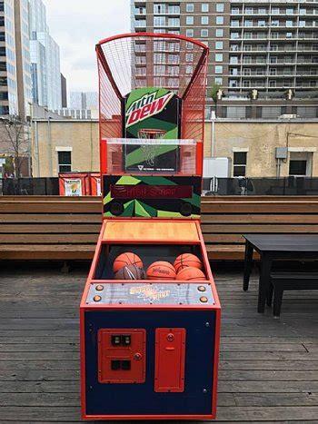 basketball arcade game rentals super shot basketball