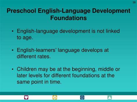 ppt california preschool learning foundations powerpoint 656 | preschool english language development foundations n