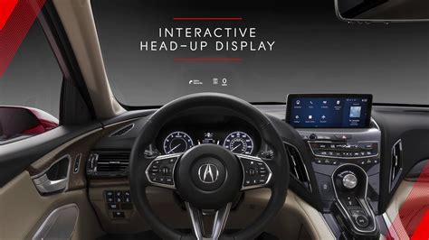 acura rdx prototype interior technology overview
