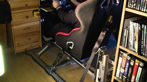 siege simulateur de conduite simulateur sur verin pilotage course automobile en