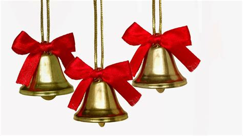 ribbon bell jingle bells images with ribbon