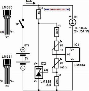 Diagram Circuit Source  Celsius Thermometer