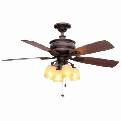 hton bay oakley 52 in oil brushed bronze ceiling fan