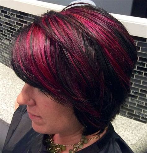 awsome highlighted hairstyles  women hair color
