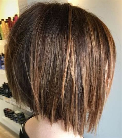 simple blunt bob hairstyles cool short haircut  female