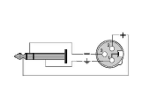 adaptateur xlr  points femelle jack  male stereo