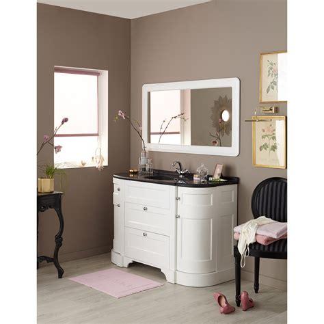 Meuble de salle de bains plus de 120, blanc beige