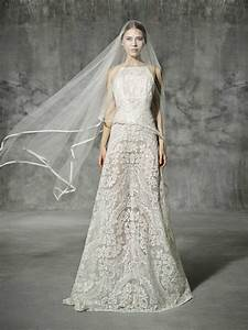 yolancris romantic lace wedding dress leiva With romantic wedding dress designers
