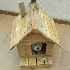 Haus Aus Paletten : haus f r kleine hunde mit palettenmobel aus paletten ~ Whattoseeinmadrid.com Haus und Dekorationen