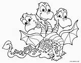 Dragon Coloring Pages Adults Printable Cool2bkids sketch template