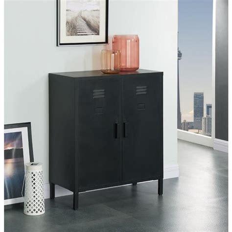 camden meuble de rangement industriel noir laqu 233 l 70 cm achat vente meuble 224 chaussures