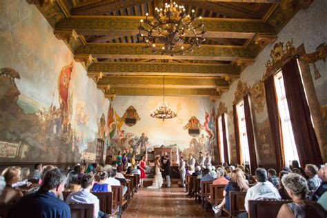 santa barbara courthouse mural room santa barbara courthouse mural room wedding d