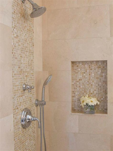 bathroom tiling design ideas neutral marble and onyx tile in bathroom shower