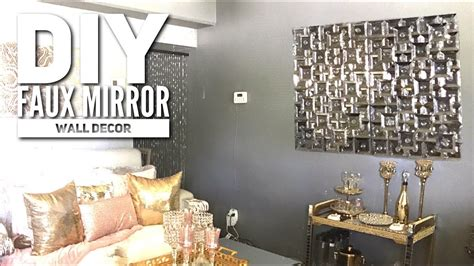 diy dollar tree faux mirror zgallerie inspired home