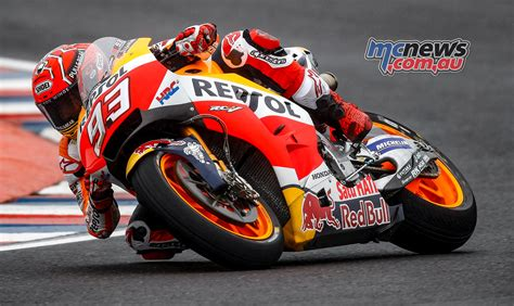 Marc Marquez Takes Pole For Argentine Motogp