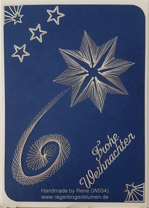 fadengrafik grusskarten weihnachten