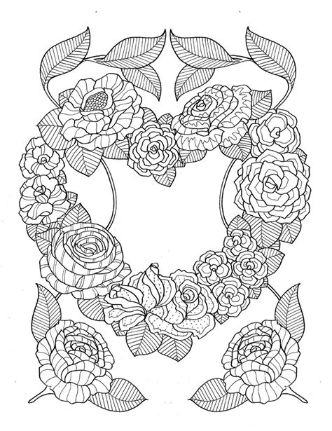 """Coloring such illustrations is not only pleasant, but also useful. """"pour voir la vie en rose"""" coloring book agenda 2016 on ..."""