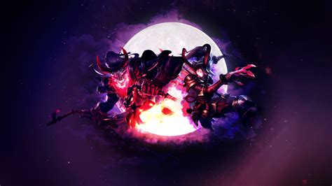 Blood Moon Diana Animated Wallpaper - blood moon thresh kalista fan league of legends