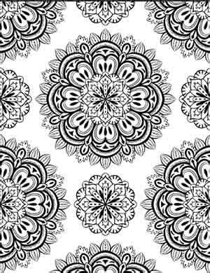 art meditation therapy   coloring pages  adults