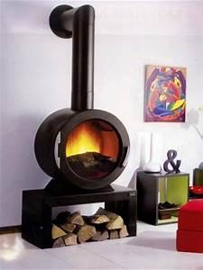Poele A Bois Moderne : chemin es et poeles a granul s philippe design cheminee ~ Dailycaller-alerts.com Idées de Décoration