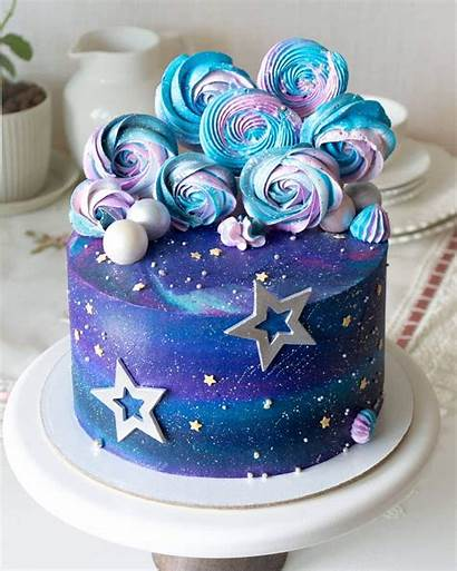 Space Cake Amazing Galaxia Pastel Birthday Themed