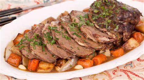cuisiner roti de veau roti de veau aux légumes au cookeo recette facile