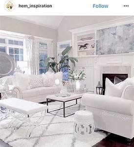 All, White, Living, Room, Inspiration, Ig, Hem, Inspiration