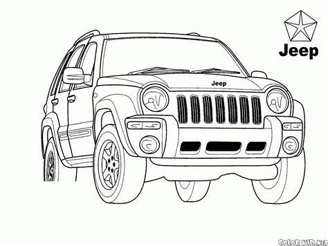 disegni da colorare jeep disegni da colorare universale jeep