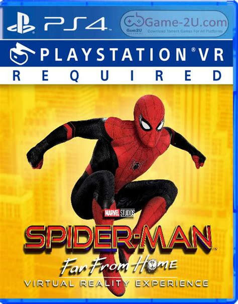 spider man   home virtual reality experience ps