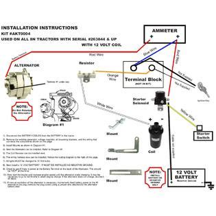 Pontica 3 Wire Alternator Diagram by Rareelectrical New Alternator Generator Conversion Kit