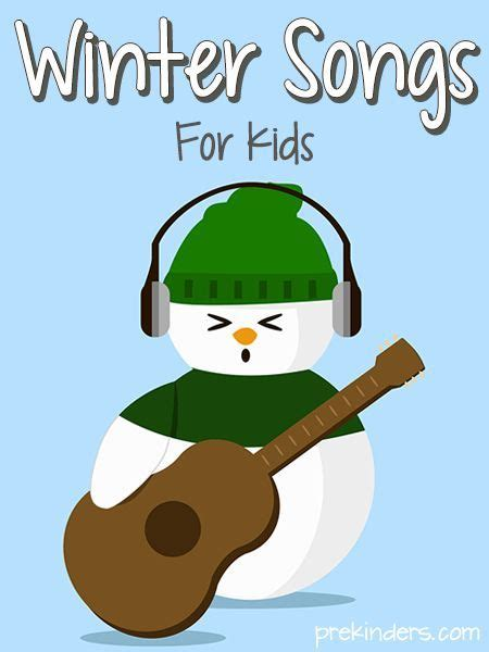 Winter Songs For Kids  Songs, Winter And Preschool Winter