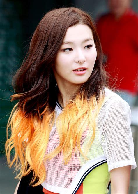 red velvets  tone hairstyle kpop korean hair  style