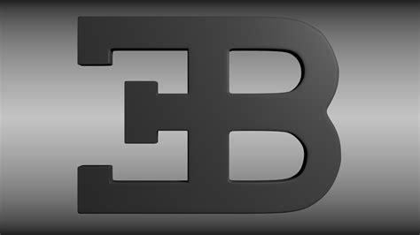 Car With Eb Logo by Bugatti Logo Wallpaper Hd