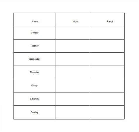 Chore List Template How To Make Schedule Using 5 Chore List Template Types