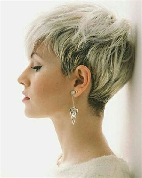Super Very Short Pixie Haircuts & Hair Colors for 2018