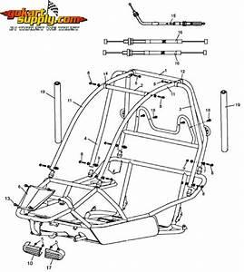 American Sportworks 6150 Go Kart Parts
