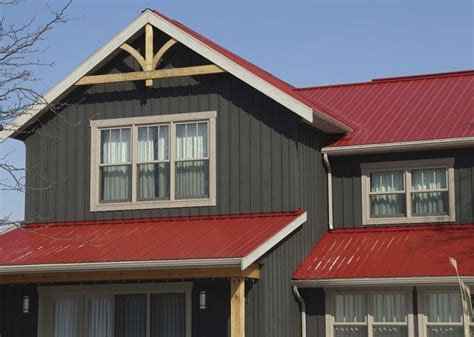 Graues Haus Rotes Dach by Image Result For Board And Batten Vinyl Siding With