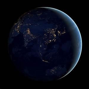 Il marmo nero – Immagini NASA della Terra di notte ad ...