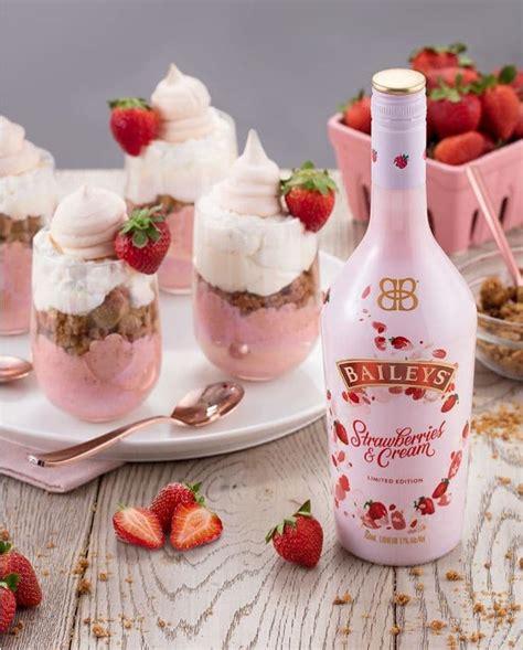 baileys strawberries  cream