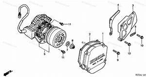 Honda Motorcycle 2002 Oem Parts Diagram For Left Crankcase
