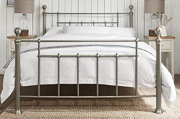 Plain Metal Bed Frame by Bedroom Furniture Collections Homeware Next Official Site