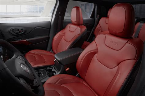 jeep red interior jeep renegade interior colors car interior design