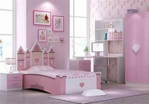 Lit Bureau Fille : lit enfant pour la chambre fille ou gar on en 41 exemples ~ Teatrodelosmanantiales.com Idées de Décoration