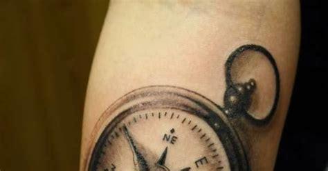 tattoo gallery  men cool compass tattoo designs