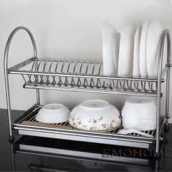 kitchen dish rack ideas aliexpress buy stainless steel dish drainer drying rack cutlery holder dish drainer