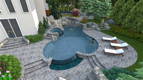 pool and patio a right sized swimming pool design in herndon virginia