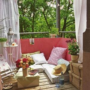 36 balkon ideen fur den sommer freshouse With balkon ideen schmal
