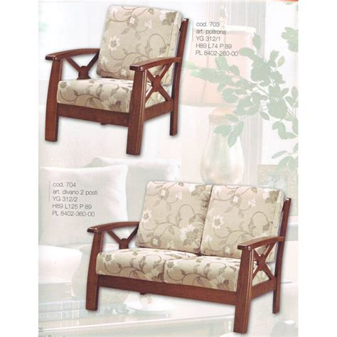 divanetto legno divano 2 posti legno divanetto tessuto poltrona relax