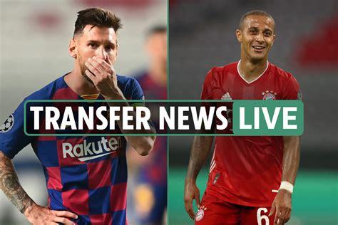 Live Transfer News: Lionel Messi WILL LEAVE Barcelona ...