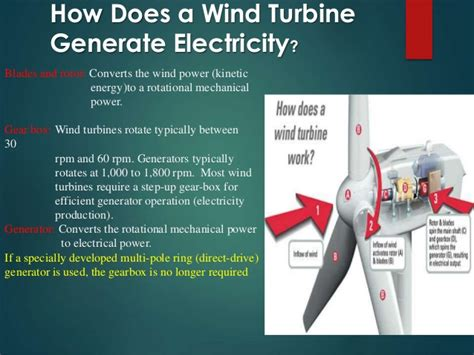 How Generate Electricity From Wind Turbine